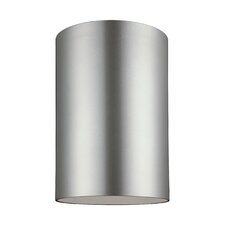 Outdoor Bullets 1 Light Ceiling Flush Mount