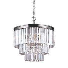 Carondelet 4 Light Crystal Chandelier