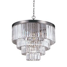 Carondelet 6 Light Crystal Chandelier