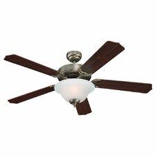 "52"" Quality Max Plus 5 Blade Ceiling Fan"