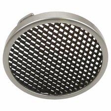 Honey Comb Trim for Disk Light in Brushed Nickel