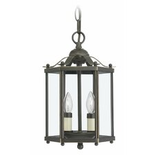 2 Light Foyer Pendant