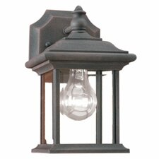 William 1 Light Outdoor Wall Lantern