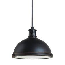Pratt Street Metal 1 Light Bowl Pendant