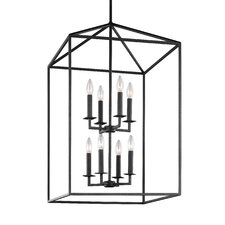Perryton 8 Light Foyer Pendant