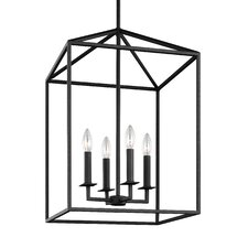 Perryton 4 Light Foyer Pendant