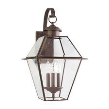 Colony 3 Light Outdoor Wall Lantern