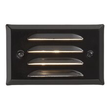 Ambiance Outdoor Grated Recessed Step Light