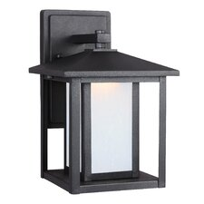 Hunnington 1 Light Outdoor Wall Lantern