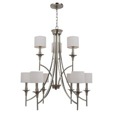 Stirling 9 Light Chandelier