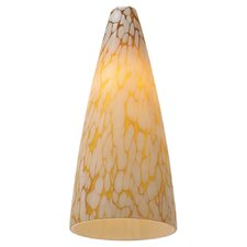 "4.5"" Ambiance Transitions Glass Bell Pendant Shade"