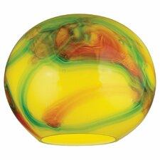 "8.25"" Glass Round Pendant Shade"