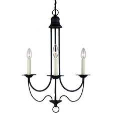 Plymouth 3 Light Chandelier