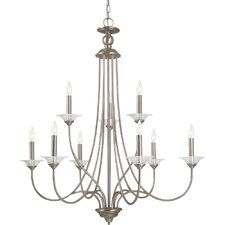 Lemont 9 Light Chandelier