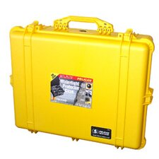 "Equipment Case with Foam: 19.44"" x 24.25"" x 8.69"""