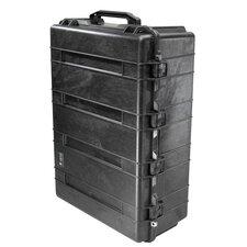 "Transport Case with Foam: 27.13"" x 37.5"" x 14.37"""