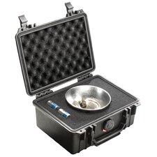 "Equipment Case with Foam: 7.5"" x 9.13"" x 4.38"""