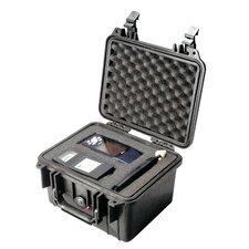 "Equipment Case with Foam: 9.5"" x 10.63"" x 6.88"""