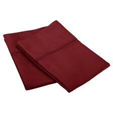 Cotton Rich 800 Thread Count Solid Pillowcase Pair