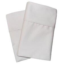 Cotton Rich 1000 Thread Count Solid Pillowcase Pair