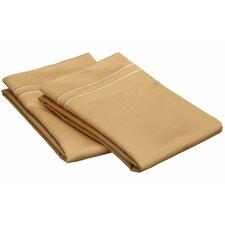 800 Thread Count Solid Pillowcase Pair