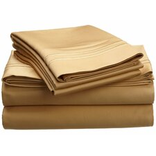 800 Thread Count Premium Long-Staple Combed Cotton Solid Sheet Set