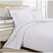 800 Thread Count Egyptian-Quality Cotton Solid Duvet Cover Set
