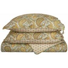 Moroccan Paisley Quilt Set