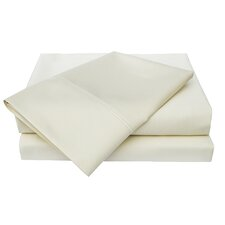 600 Thread Count Solid Pillowcase (Set of 2)