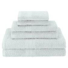 Superior 6 Piece Towel Set