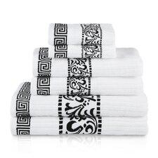 Athens 6 Piece Towel Set