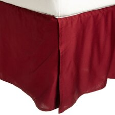 Heritage 3000 Series Solid-2 Line Embroidery Bed Skirt