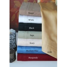 800 Thread Count Solid Pillowcase Set