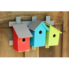 Trellis Trio Mounted Birdhouses