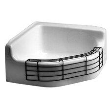 "28"" x 28"" Single Custodial Floor Service Sink"