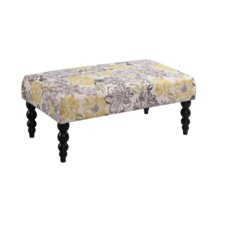 Claire Fabric Bedroom Bench