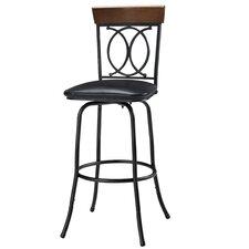 Adjustable Height Swivel Bar Stool (Set of 3)