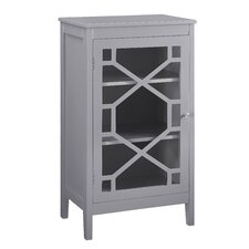 Fetti 1 Door Small Accent Cabinet
