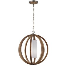 Allier 1 Light Foyer Pendant