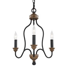 Hartsville 3 Light Candle Chandelier