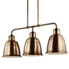 Hobson 3 Light Kitchen Island Pendant