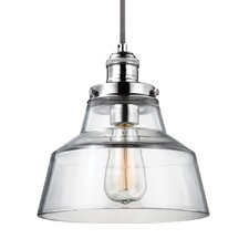 Baskin 1 Light Pendant