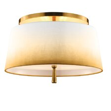 Tori 2 Light Semi Flush Mount