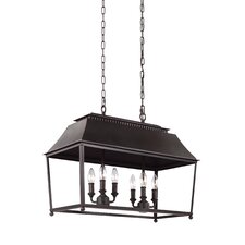 Galloway 6 Light Billiard Light