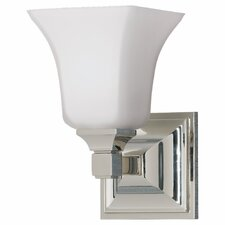 American Foursquare 1 Light Wall Sconce