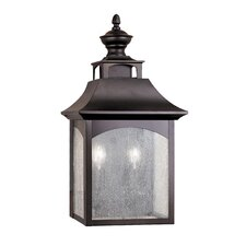 Homestead 2 Light Outdoor Wall Lantern