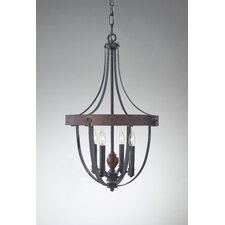 Alston 4 Light Chandelier