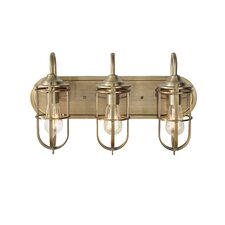 Urban Renewal 3 Light Bath Vanity Light