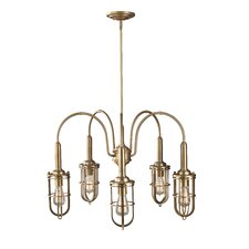 Urban Renewal 5 Light Mini Chandelier