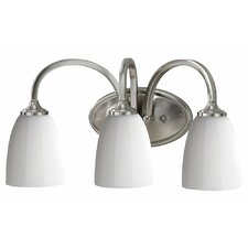 Perry 3 Light Bath Vanity Light